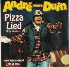 André van Duin - Pizza Lied (CDS)